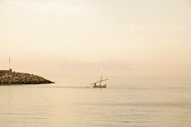 Poca barca fotografia stock libera da diritti