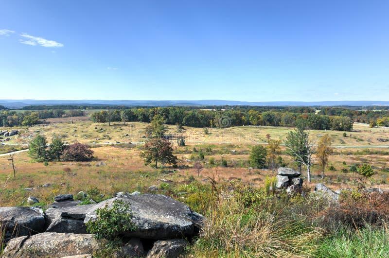 Poca cima rotonda, Gettysburg, PA immagine stock libera da diritti