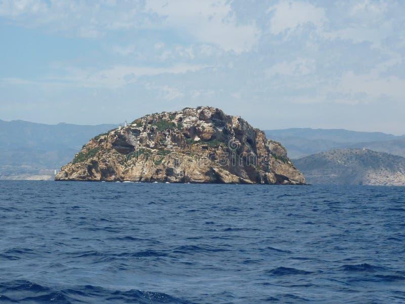 Poca isla imagen de archivo