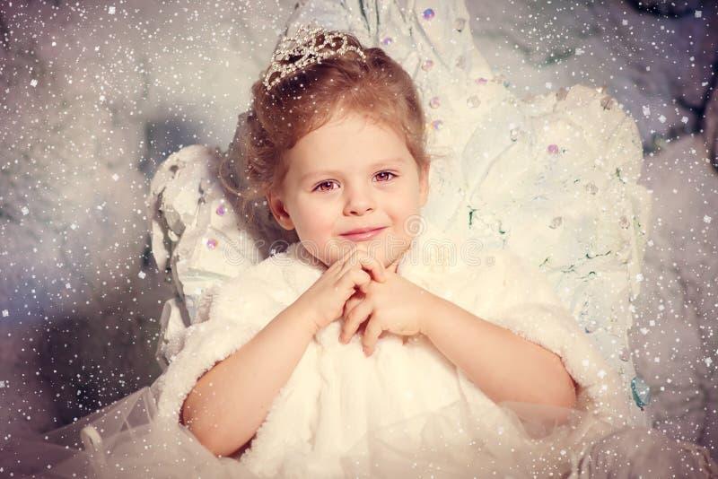 Poca princesa del invierno imagenes de archivo