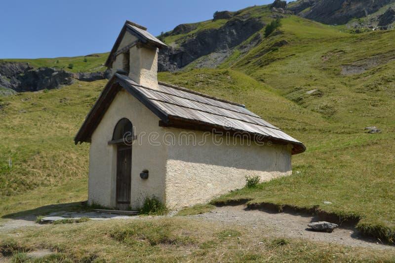 Poca selce silicea nelle alpi francesi immagine stock