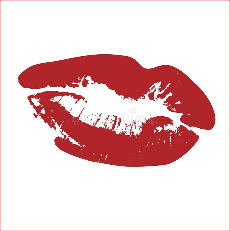 Pocałunek wektora