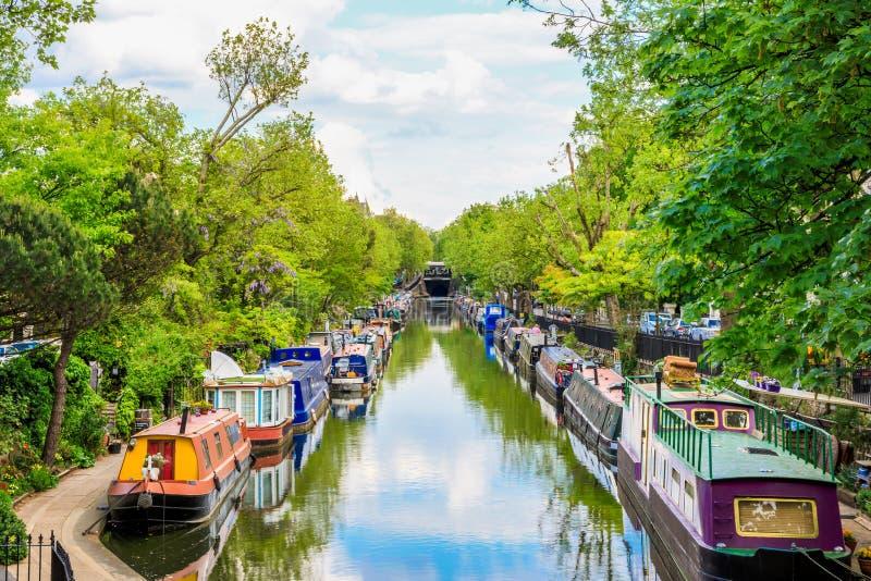 Poca Venezia a Londra fotografia stock libera da diritti