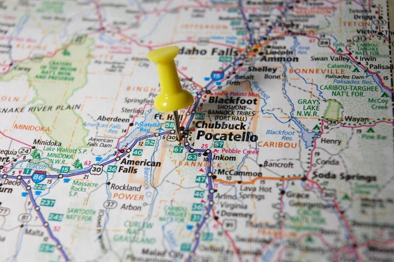 Pocatello, Αϊντάχο στοκ εικόνες με δικαίωμα ελεύθερης χρήσης