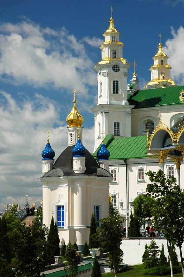 Pochayiv Lavra royalty free stock photography