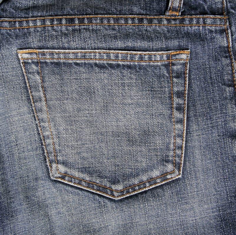 Download Poche de jeans image stock. Image du tissu, indigo, fond - 2135921