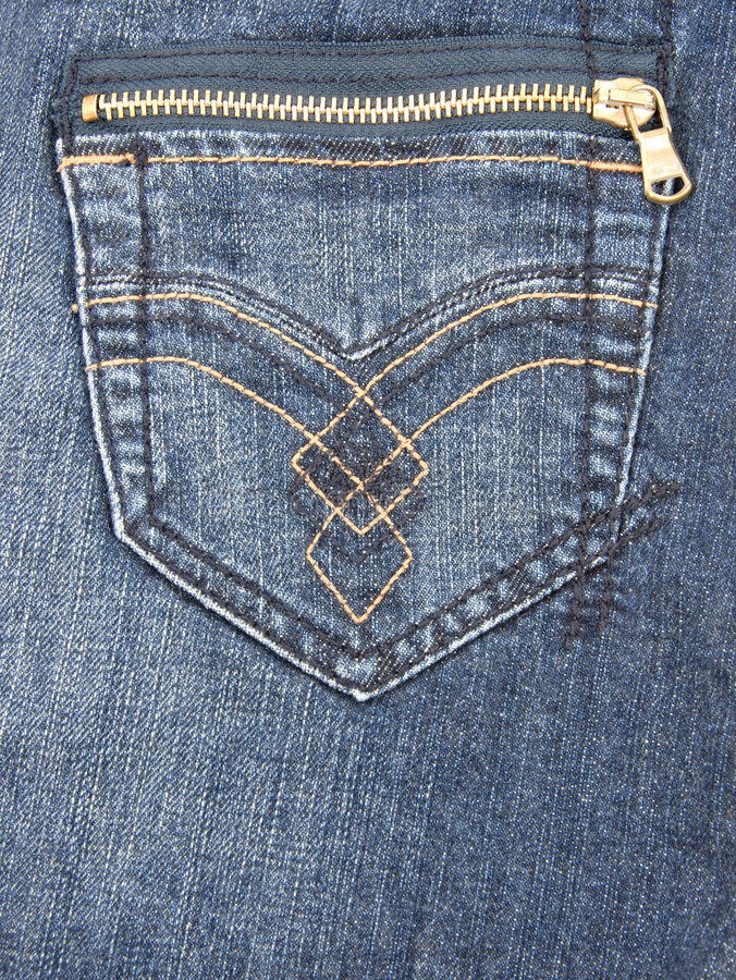 Poche de jeans images libres de droits