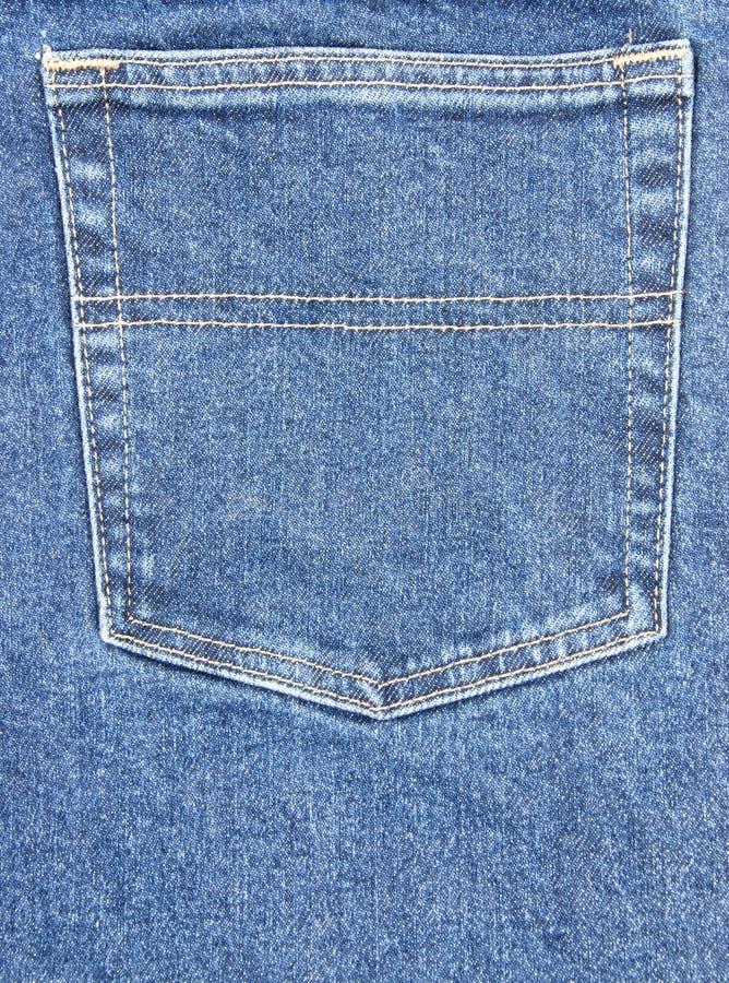 Poche de jeans image stock