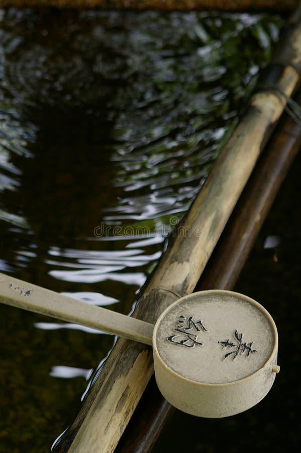 Poche de l'eau photographie stock