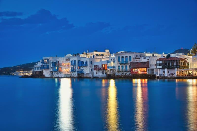 Poche Venezia & ora blu fotografia stock