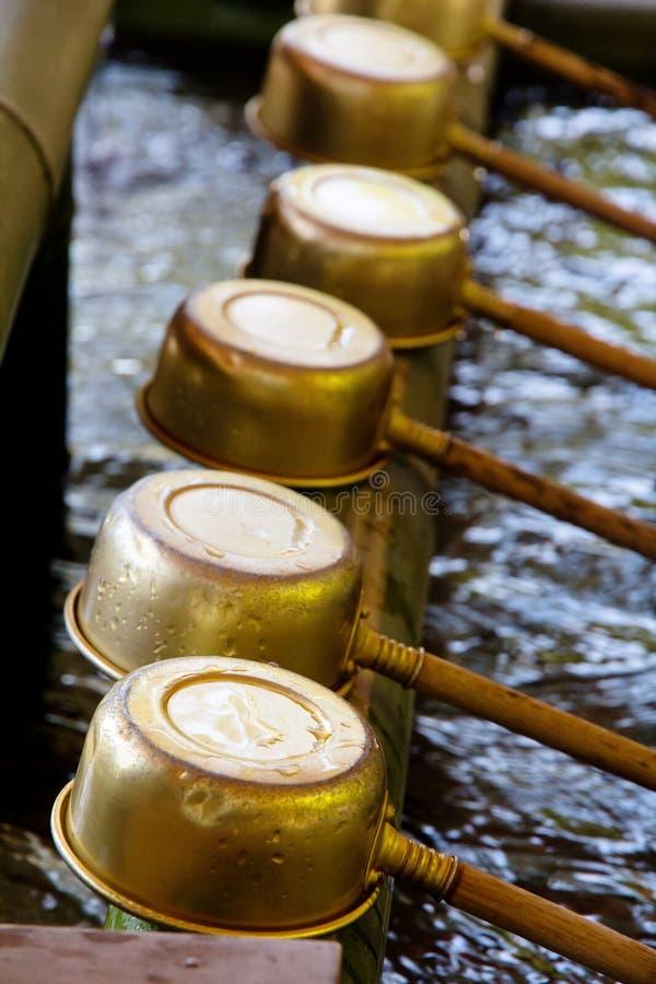 Poches de purification de tombeau de Shinto photos libres de droits