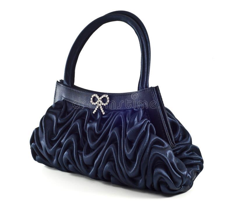 Pochette blu elegante immagine stock