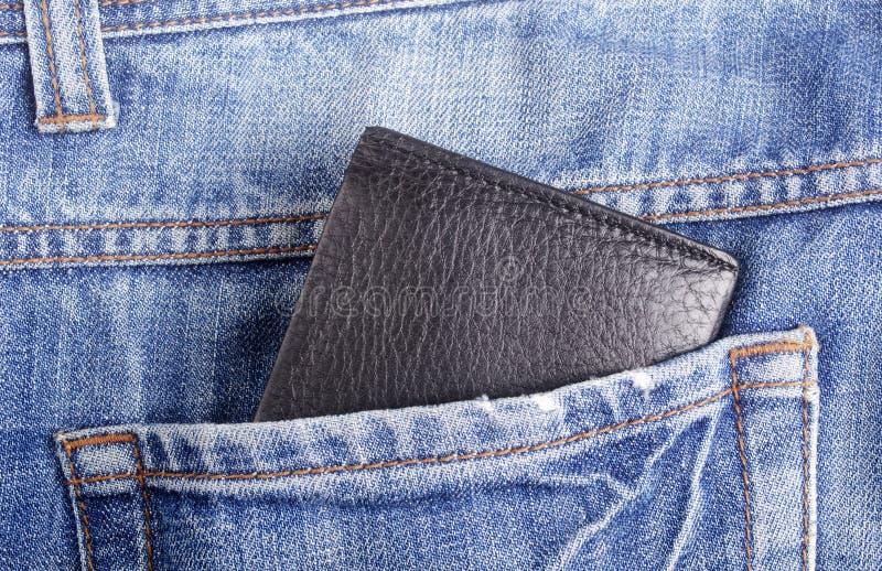 Pochette dans la poche photo libre de droits