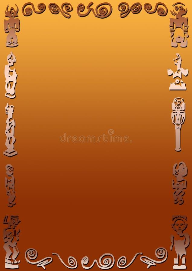 pochodzenie afrykańskiego ilustracji