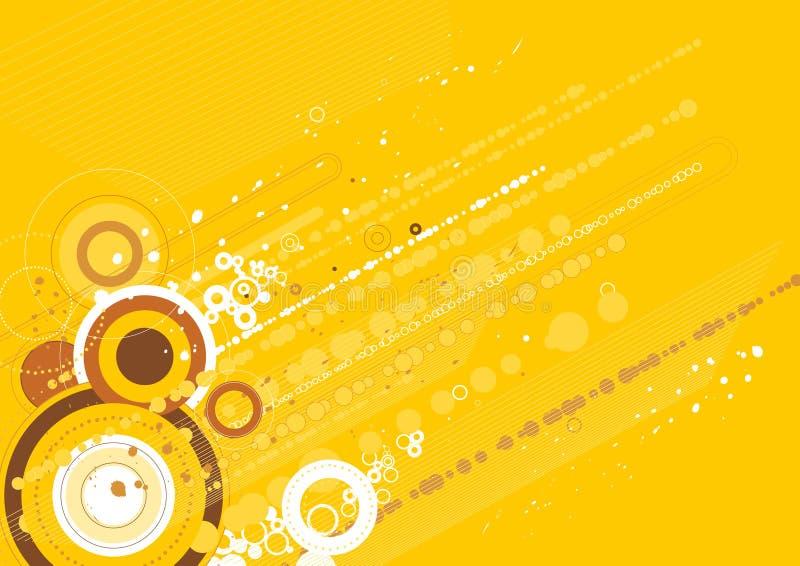 pochodzenie wektora żółty ilustracja wektor