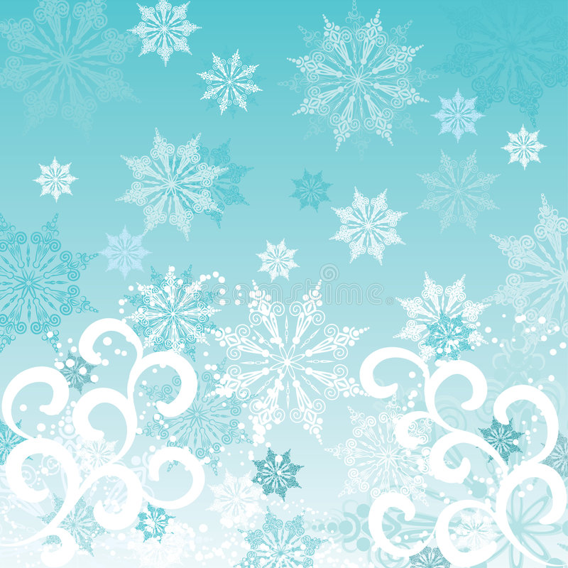 pochodzenie wektora zimy. royalty ilustracja