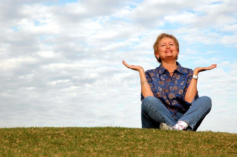pochwały medytacji senior