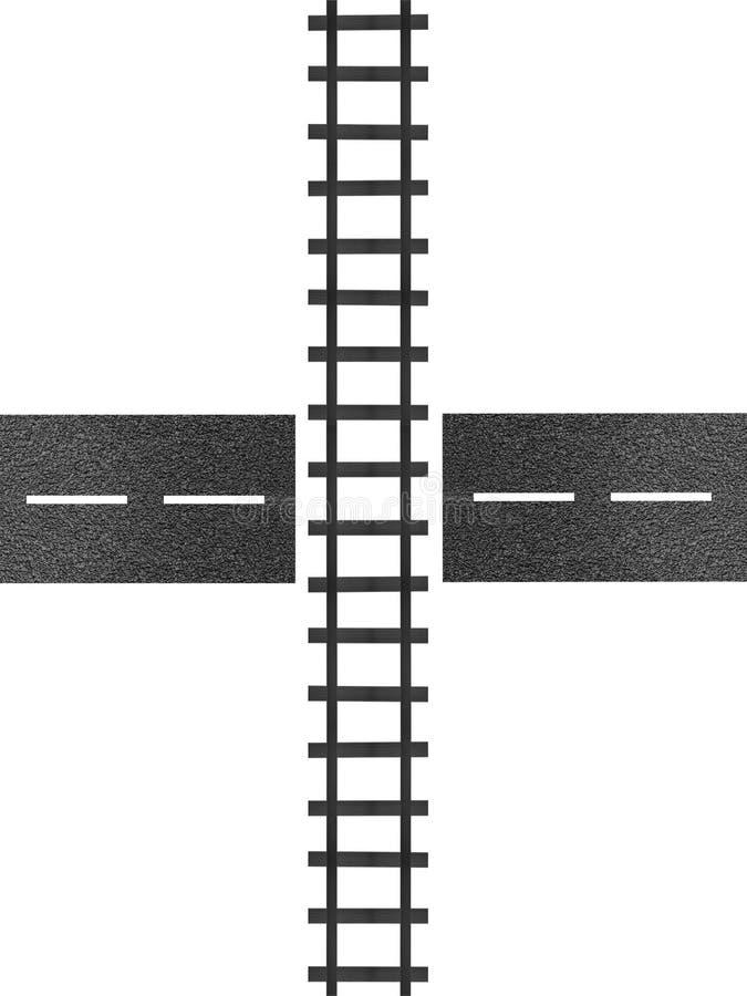 Pociągów ślada ilustracji