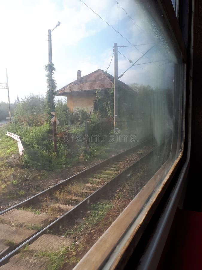 -4 pociąg obraz stock