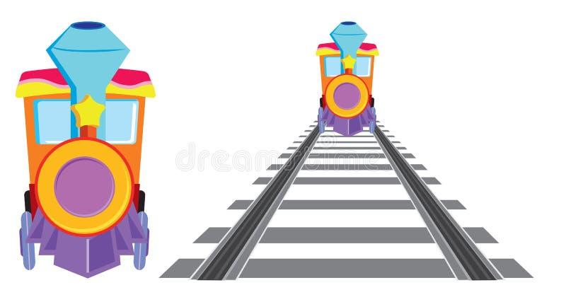 pociąg royalty ilustracja
