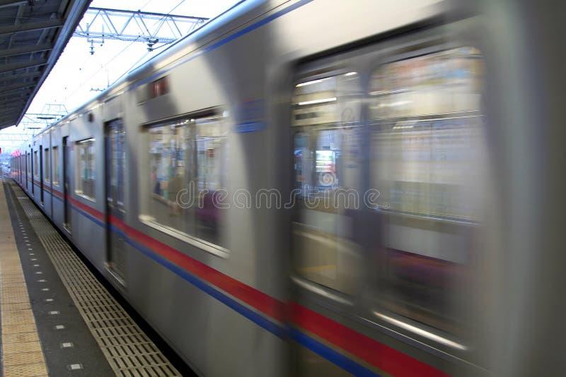 Pociąg ekspresowy zdjęcia royalty free