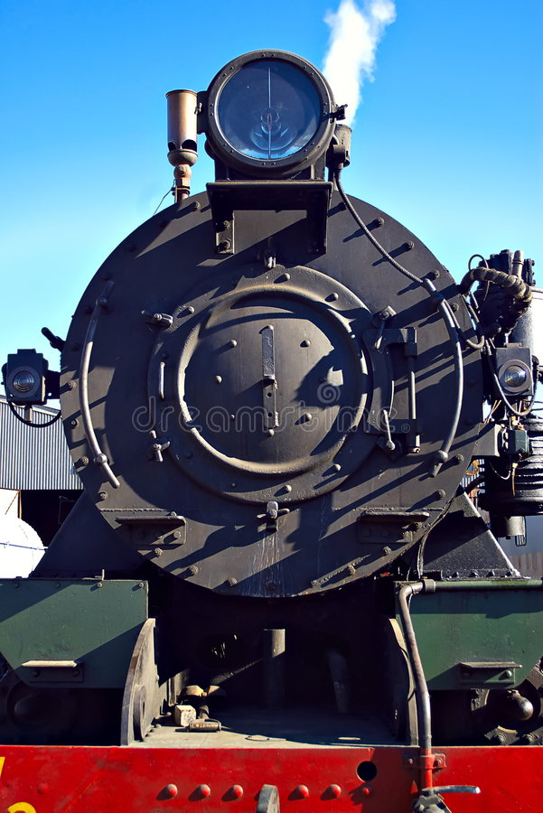 pociąg lokomotywy pary zdjęcia stock
