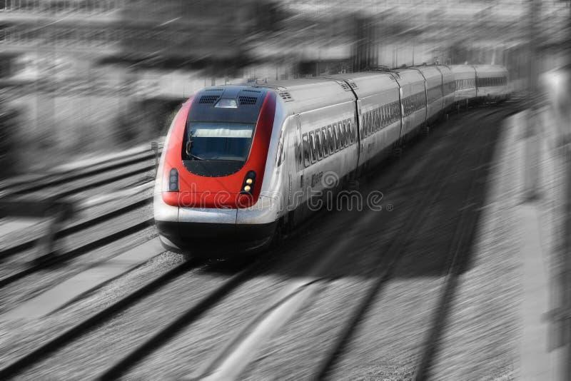 pociąg serii fotografia stock