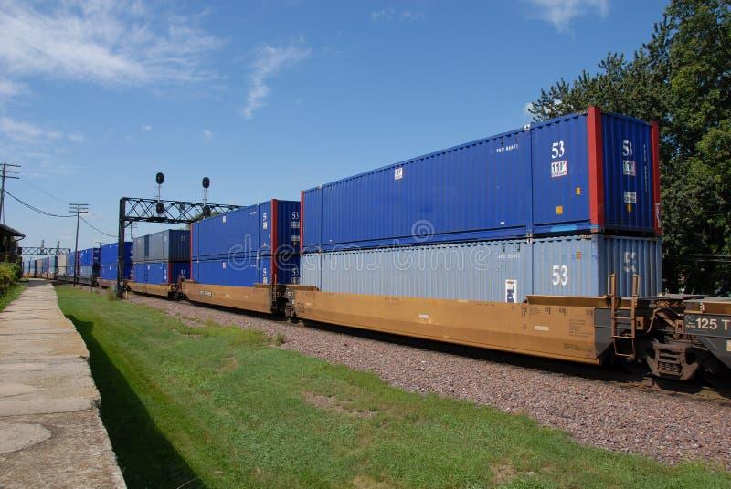 pociąg towarowy zdjęcia stock