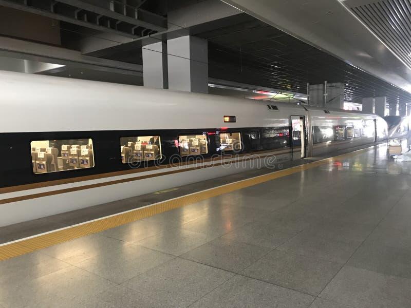 Pociąg w Chiny fotografia stock