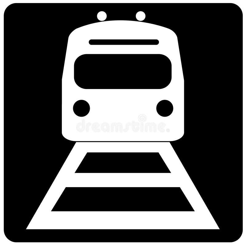 Download Pociąg. ilustracja wektor. Obraz złożonej z tramwaj, post - 6194424