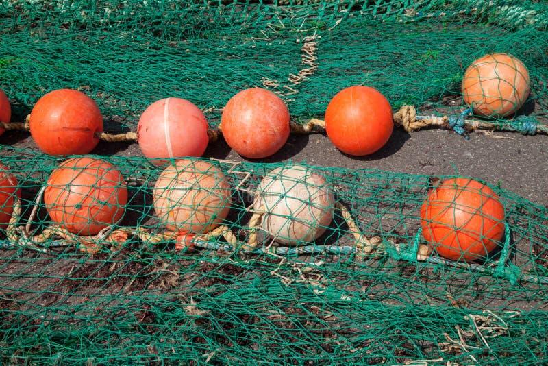 pociesza sieć rybacką obraz royalty free