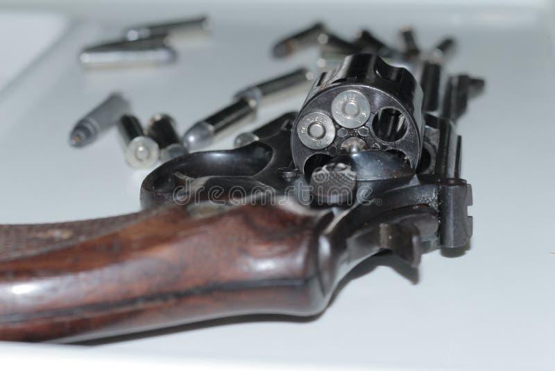 Pociski przygotowywający strzelać zdjęcia stock