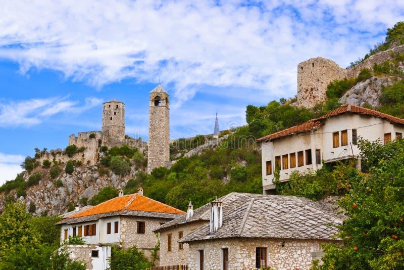 Pocitelj - Bósnia e Herzegovina imagens de stock royalty free