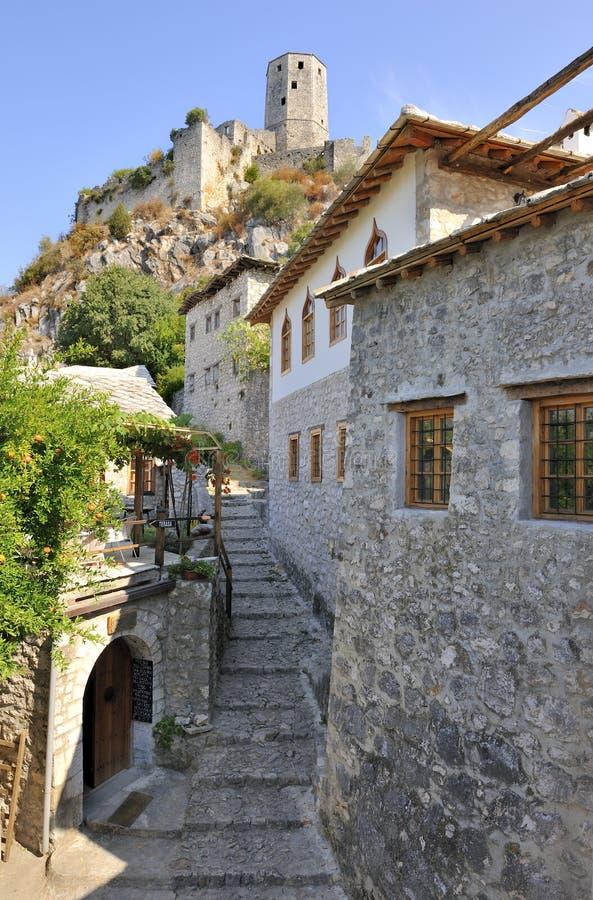Pocitelj, Bosnia stock fotografie