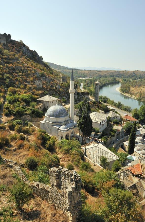 Pocitelj, Bosnien lizenzfreie stockfotos