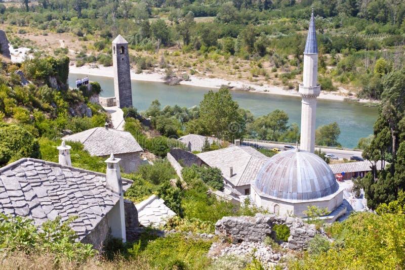 Pocitelj by - Bosnien och Hercegovina. royaltyfria foton