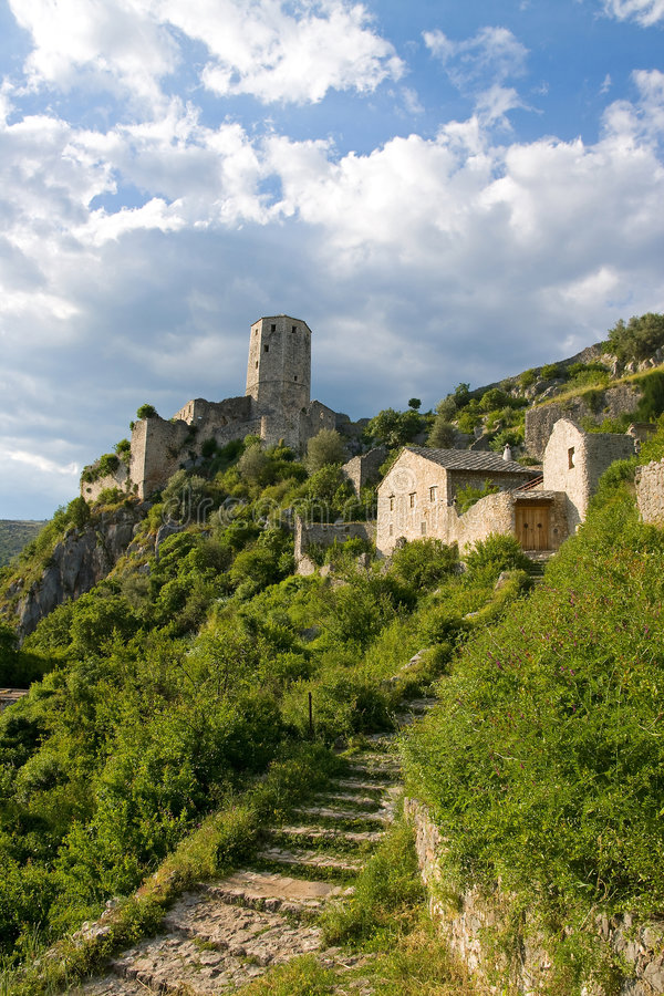 Free Pocitelj Fortress Royalty Free Stock Photography - 5158737