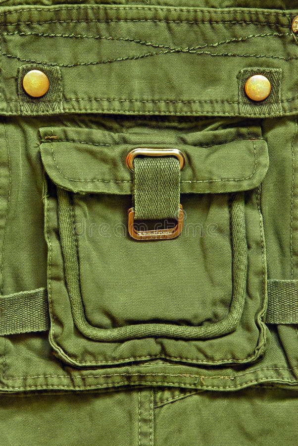 Download Pocket stock image. Image of detail, green, fabric, cotton - 17540575