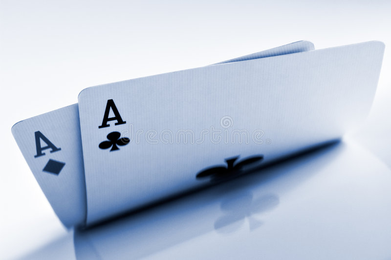 Pocket Aces Royalty Free Stock Photography