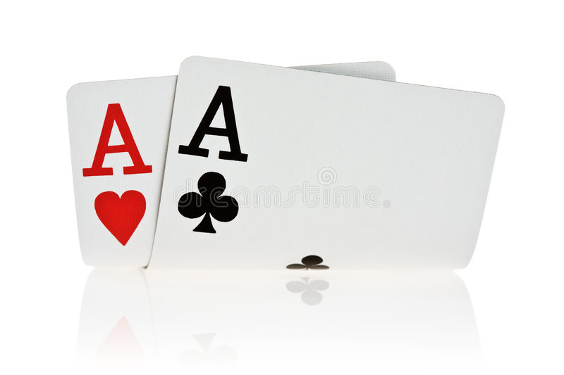 Download Pocket Aces stock image. Image of hold, background, hand - 3314343