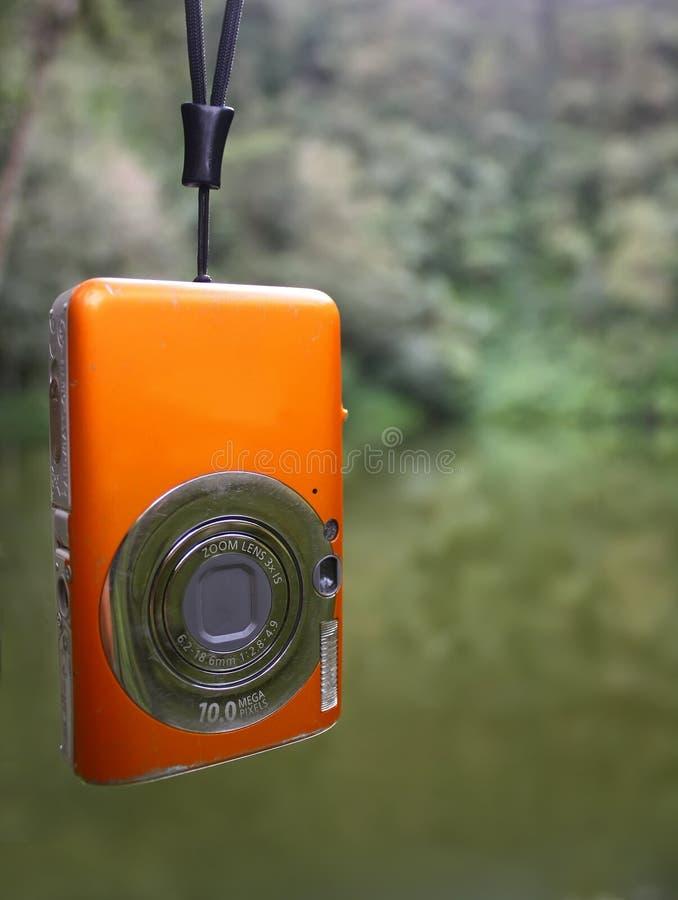 pocket camera stock photo