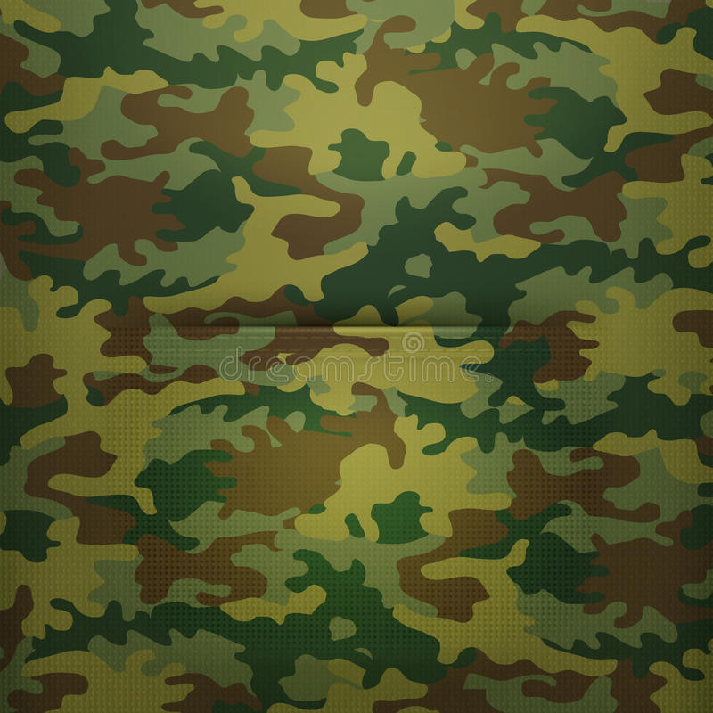 Download Pocket camouflage stock vector. Illustration of canvas - 34918725