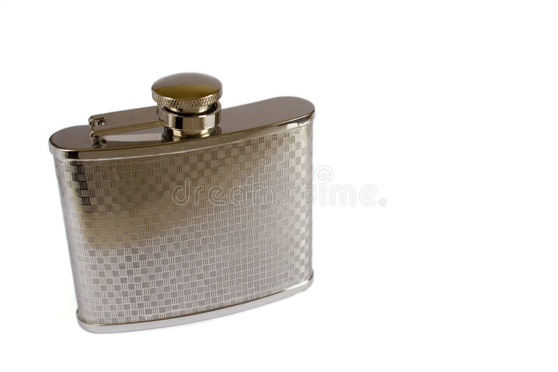 Pocket Canteen. In white background royalty free stock photo