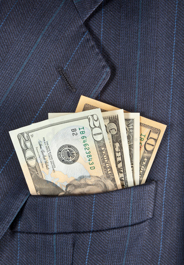 Download Pocket dollars stock photo. Image of dollars, money, career - 20803300