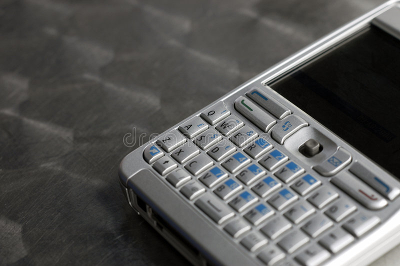 Download Pocket Email Device On Table Royalty Free Stock Image - Image: 1621926