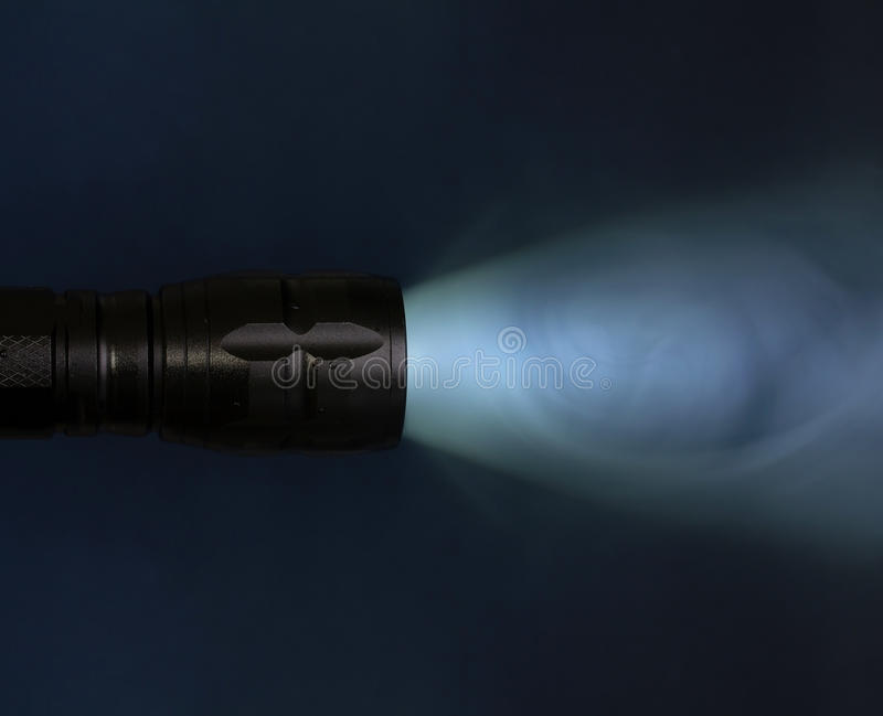 Pocket Flashlight Stock Photography