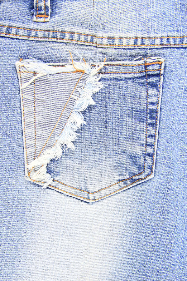 Free Pocket Jean Royalty Free Stock Image - 21390436