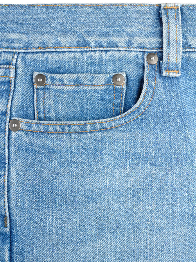 Pocket on jeans royalty free stock images