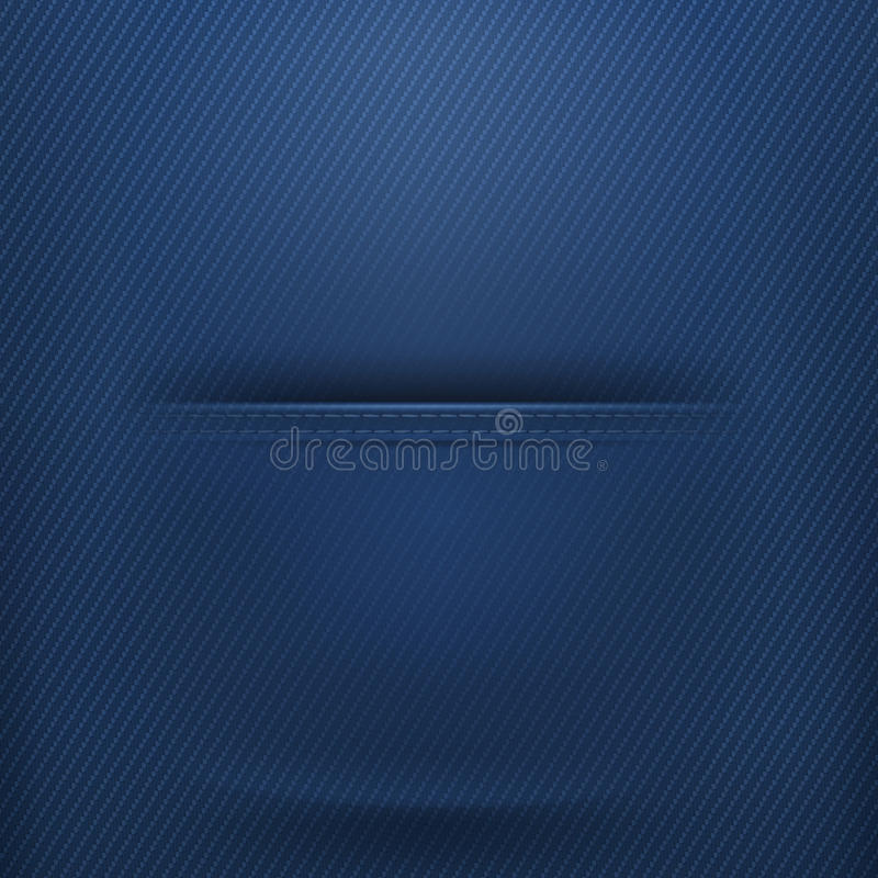 Download Pocket jeans stock vector. Image of cotton, design, empty - 34918782