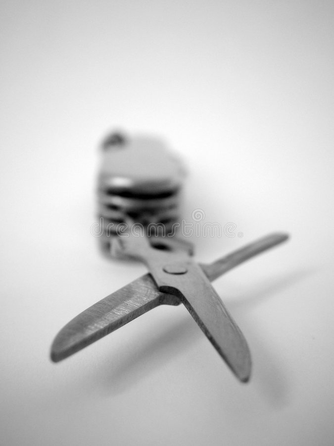 Pocket Knife stock photography